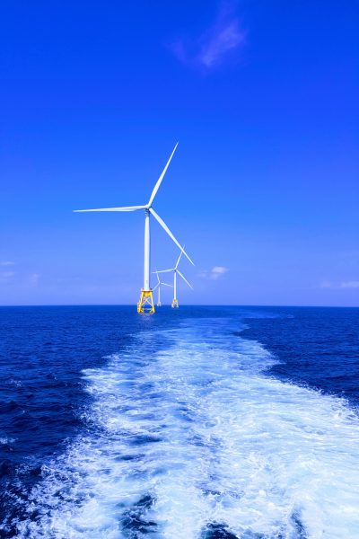 Image of wind farm for blog on lean leader Abdul at GE renewable energy